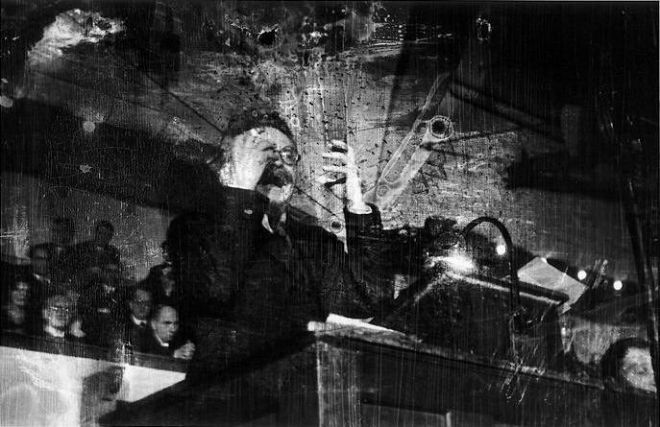 Robert Capa / Magnum Photos. Leon Trotsky, 1932