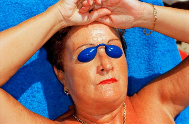 "Photo by Martin Parr from his ""Common Sense"" book. Spain, 1997"