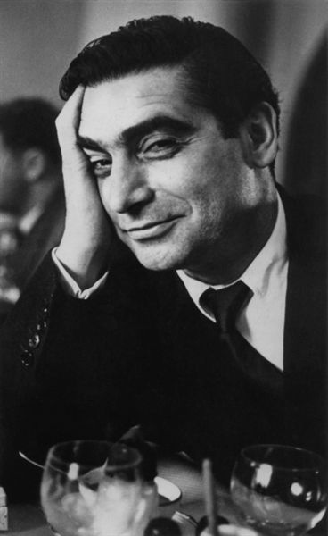 Robert Capa photographed by Ruth Orkin