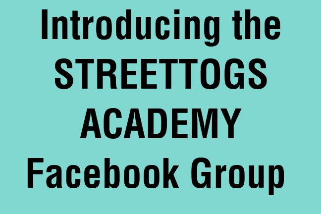 Introducing Streettogs Academy