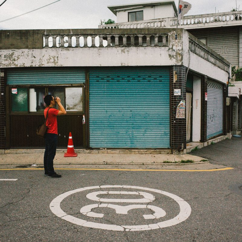 Photographing the streets of Seoul, photo by Cindy