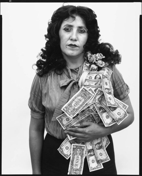 Petra Alvarado, Factory Worker, on her Birthday, El Paso, Texas,  April 22, 1982