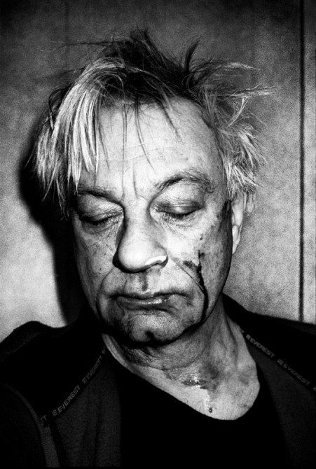 Anders Petersen self-portrait