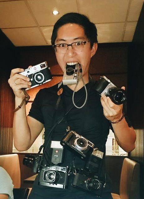 Too many cameras= more stress (not all my cameras btw)