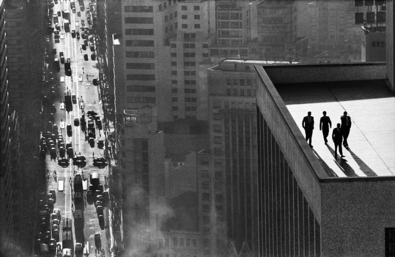 Copyright Rene Burri / Magnum Photos. BRAZIL. Sao Paulo. 1960.