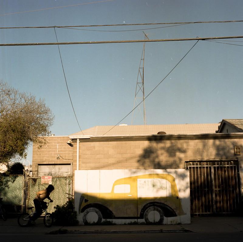 Berkeley, 2014. Shot on a Hasselblad 501c with Kodak Portra 400.