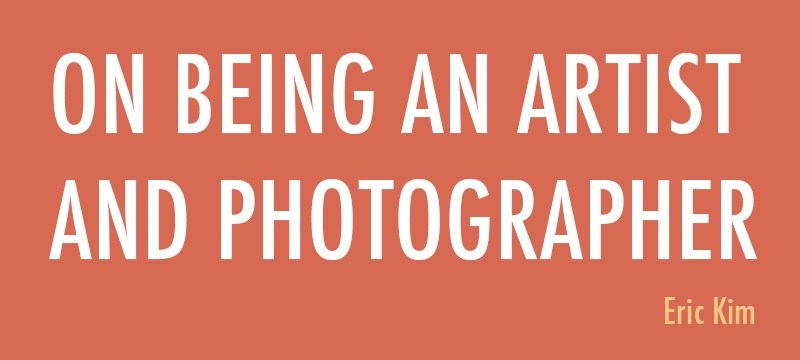 Free E-Book: On Being an Artist and Photographer
