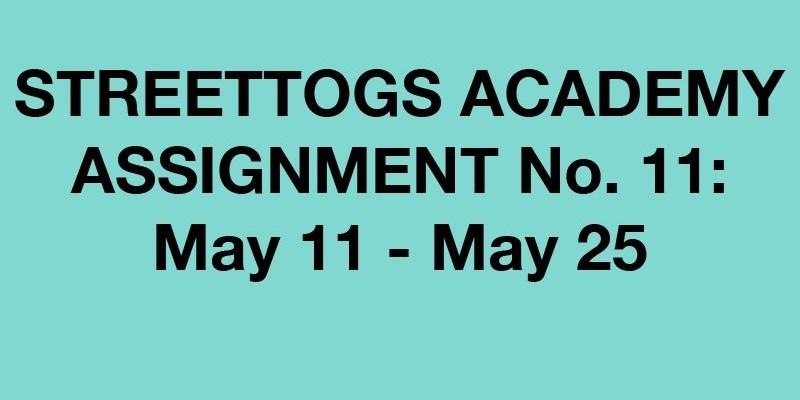 Streettogs Academy No. 11