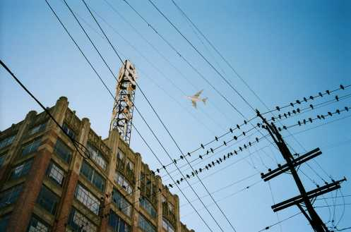 Downtown LA, 2013 by Eric Kim#portra400