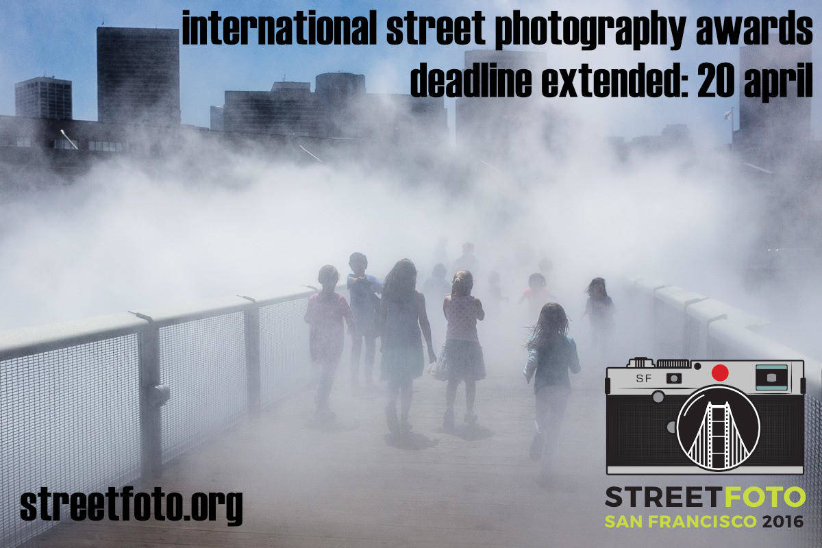 Reminder: Last Day to Submit for Streetfoto SF Competition