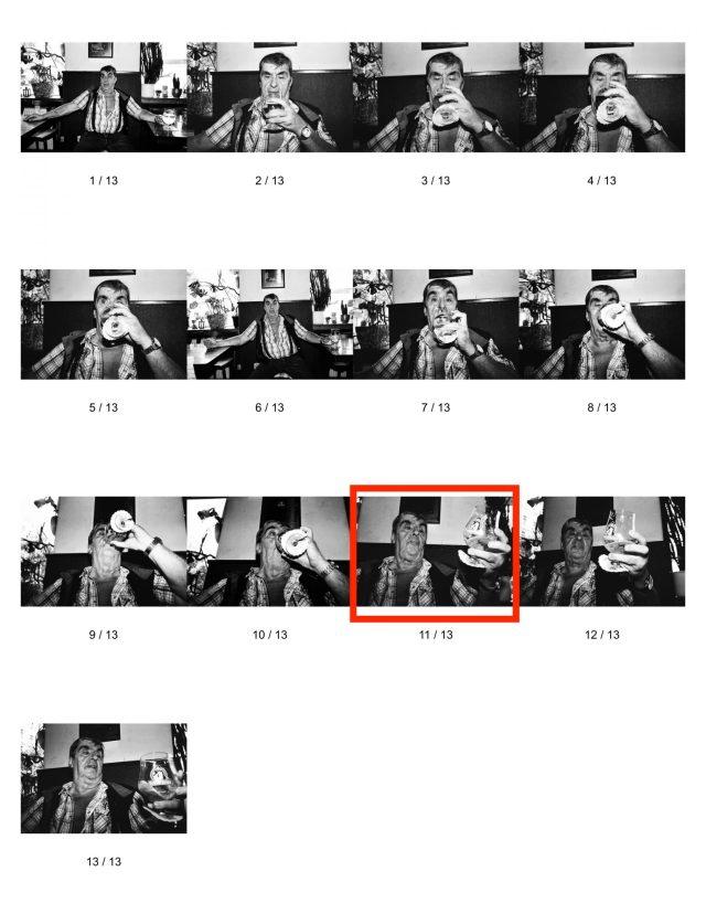eric kim street photography - beer - contact sheet
