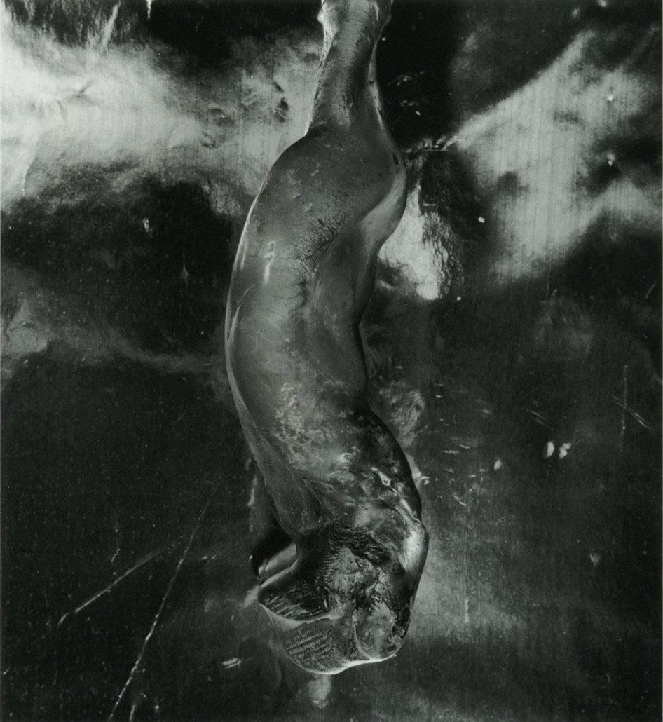 "SHOMEI TOMATSU | ""Bottle Melted and Deformed by Atomic Bomb Heat, Radiation and Fire, Nagasaki"", 1961"