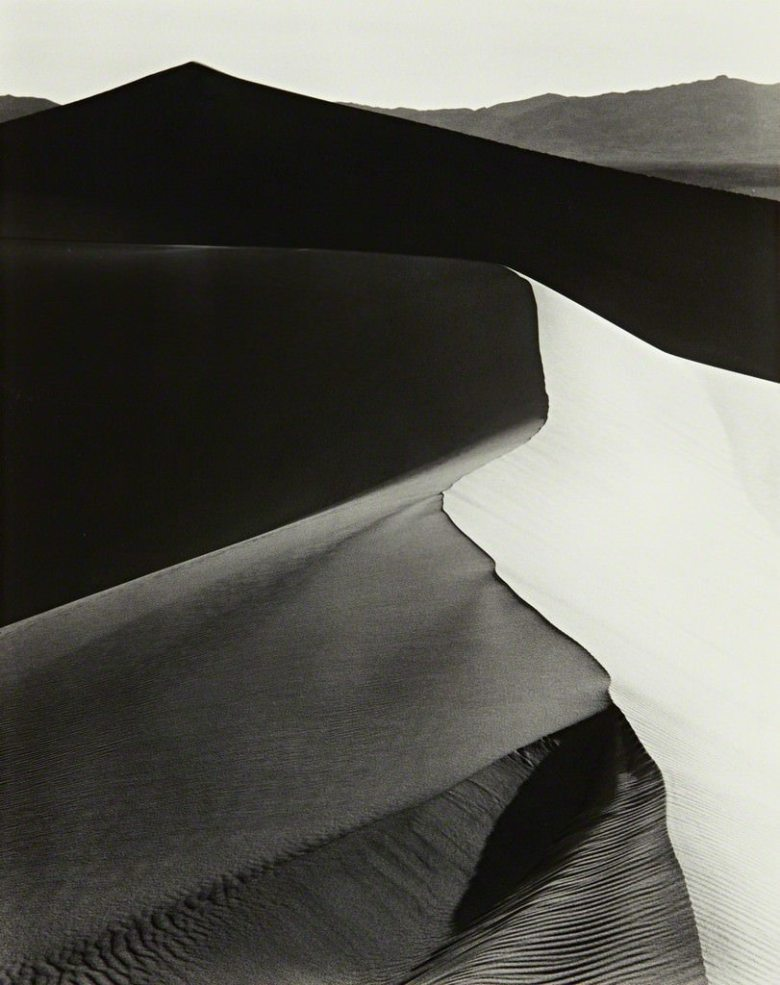 ansel-adams-black-and-white-landscape-photography-dunes