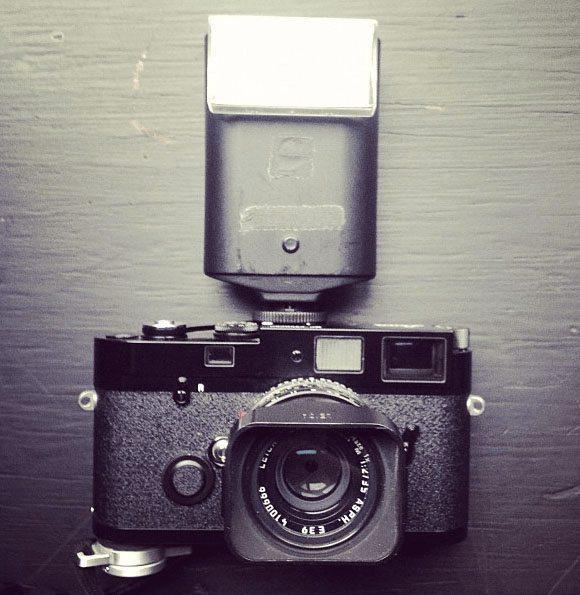 Leica MP and 35mm f/2 Summicron + SF 20 flash