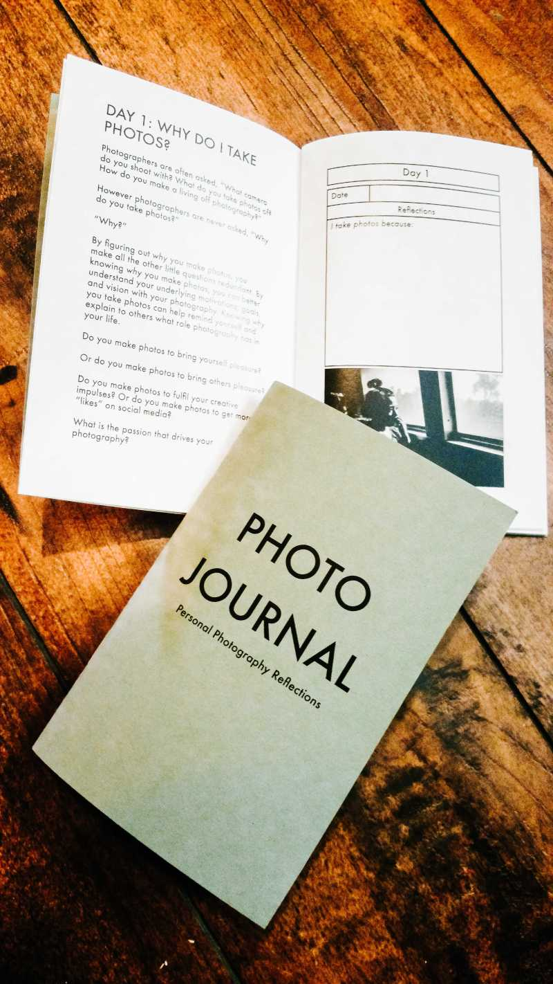 photo journal personal photography reflections