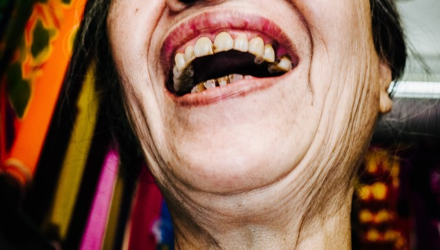 Laughing lady Hanoi, 2017
