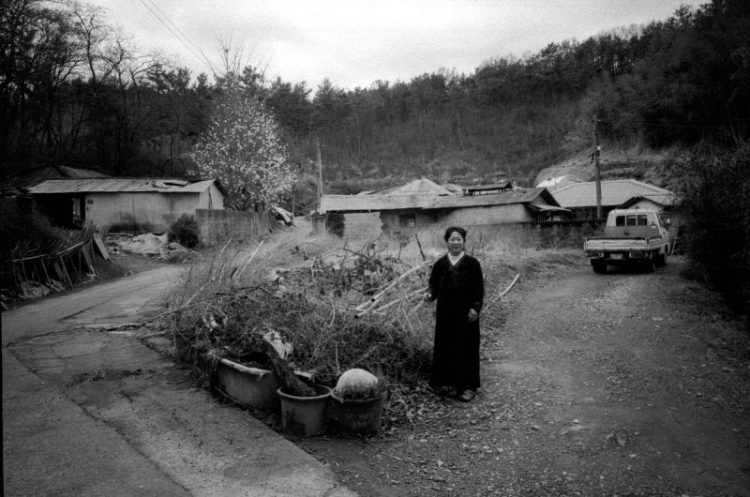 My mom at her childhood home / Busan, 2014