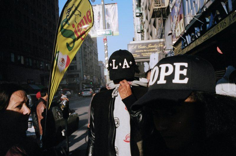 eric kim street photography downtown la layers kodak portra 400