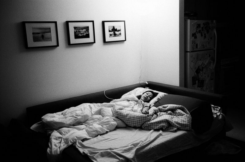 Cindy Project Monochrome black and white bed