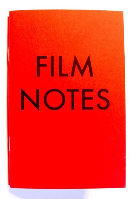 FILM NOTEs BY ERIC KIM X HAPTICPRESS