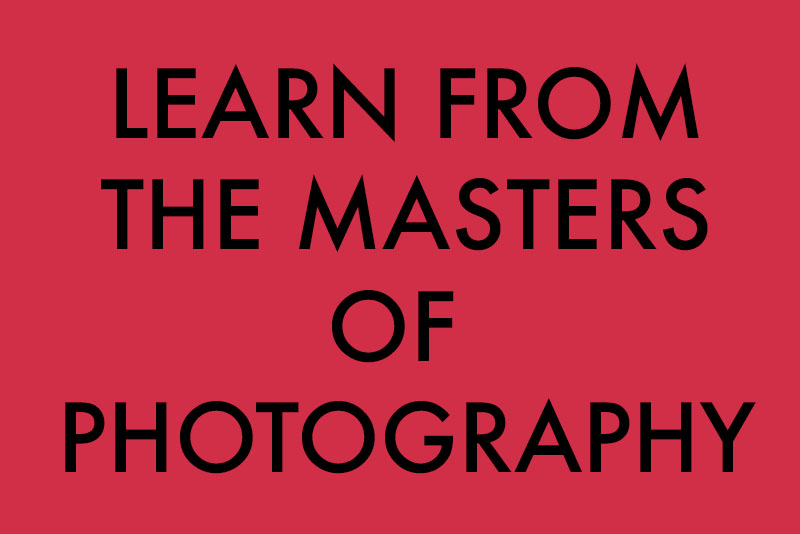 Learn From the Masters of Photography-title
