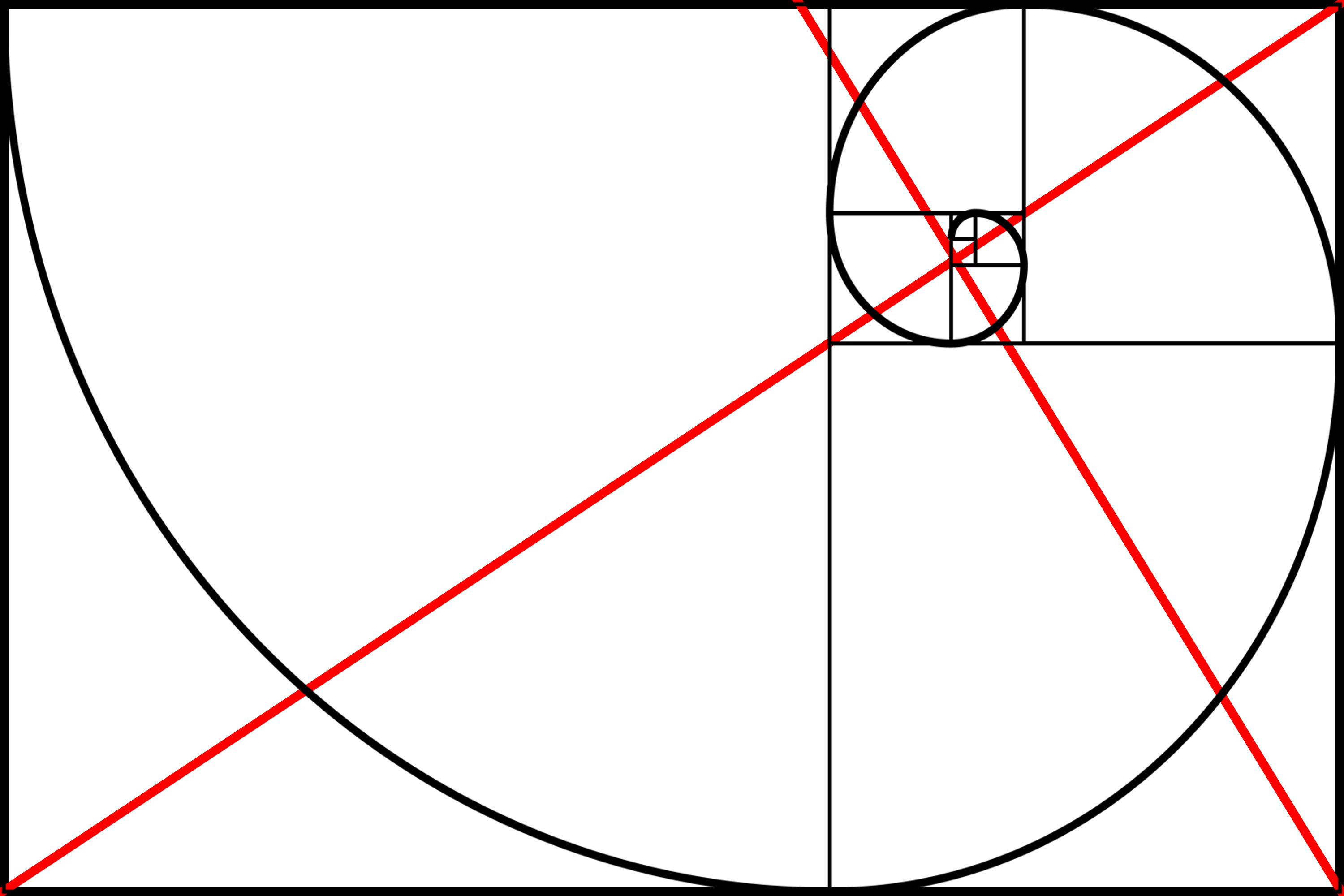 Drawing Lines In Keynote : Golden rectangle composition eric kim