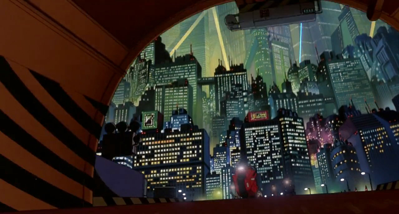 AKIRA Screenshot Movie Composition Cinematography127