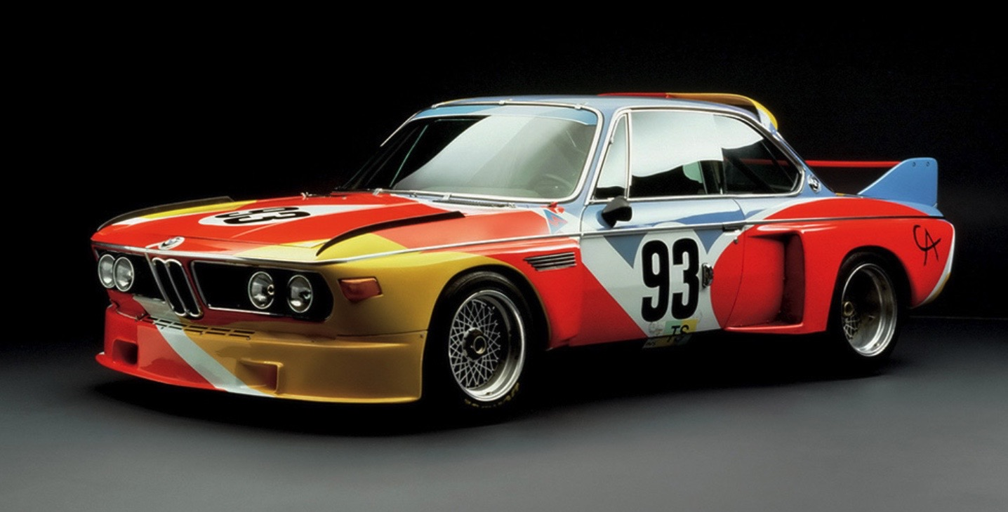 ALEXANDER CALDER BMW ART CAReric kim screenshot_857