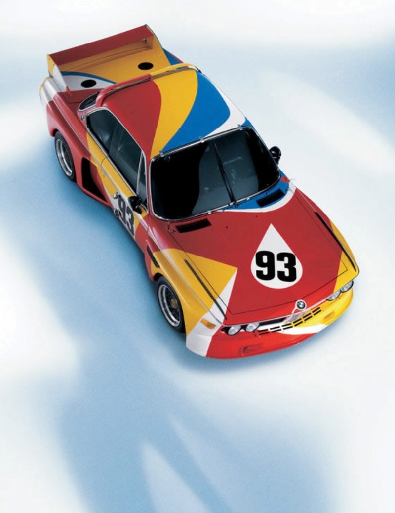 ALEXANDER CALDER BMW ART CAReric kim screenshot_861