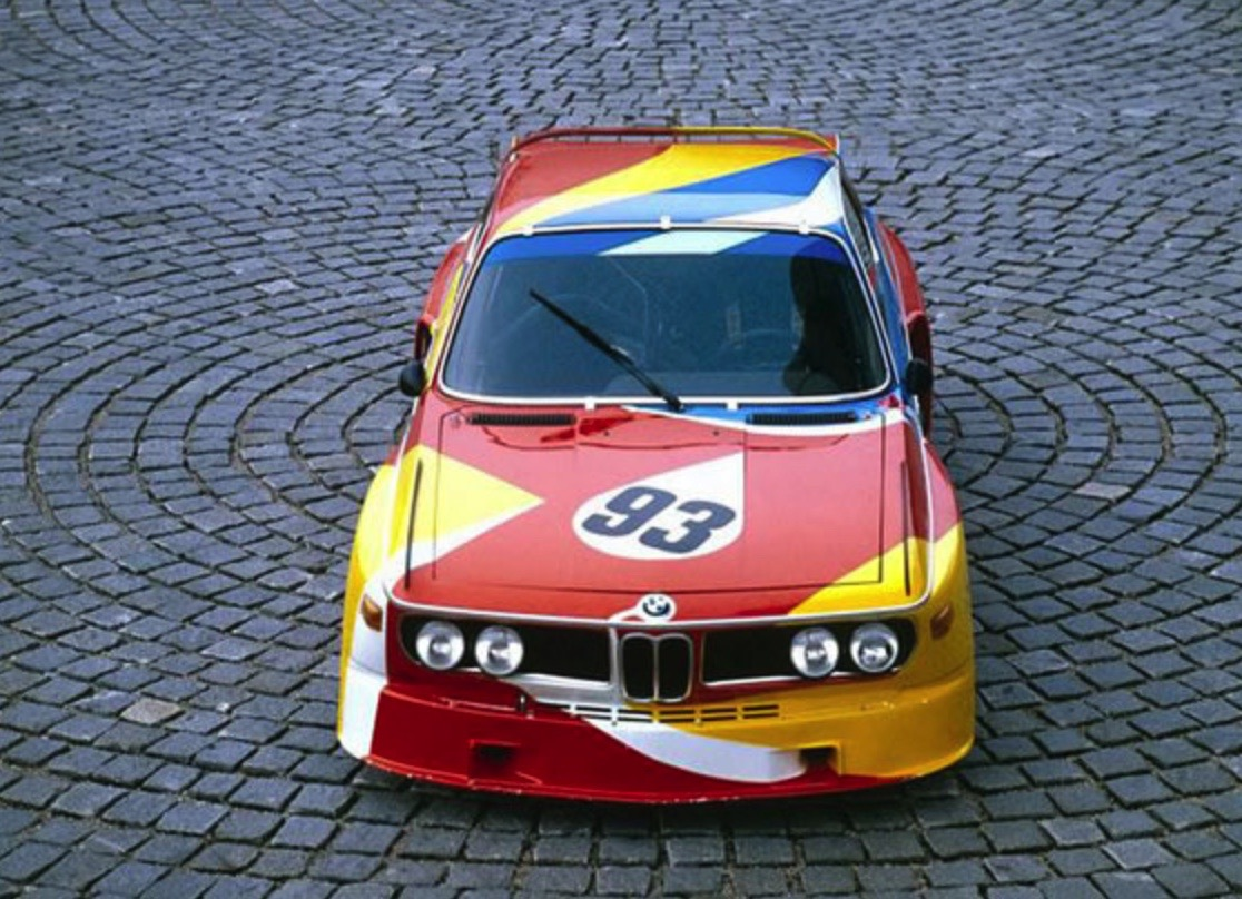 ALEXANDER CALDER BMW ART CAReric kim screenshot_862