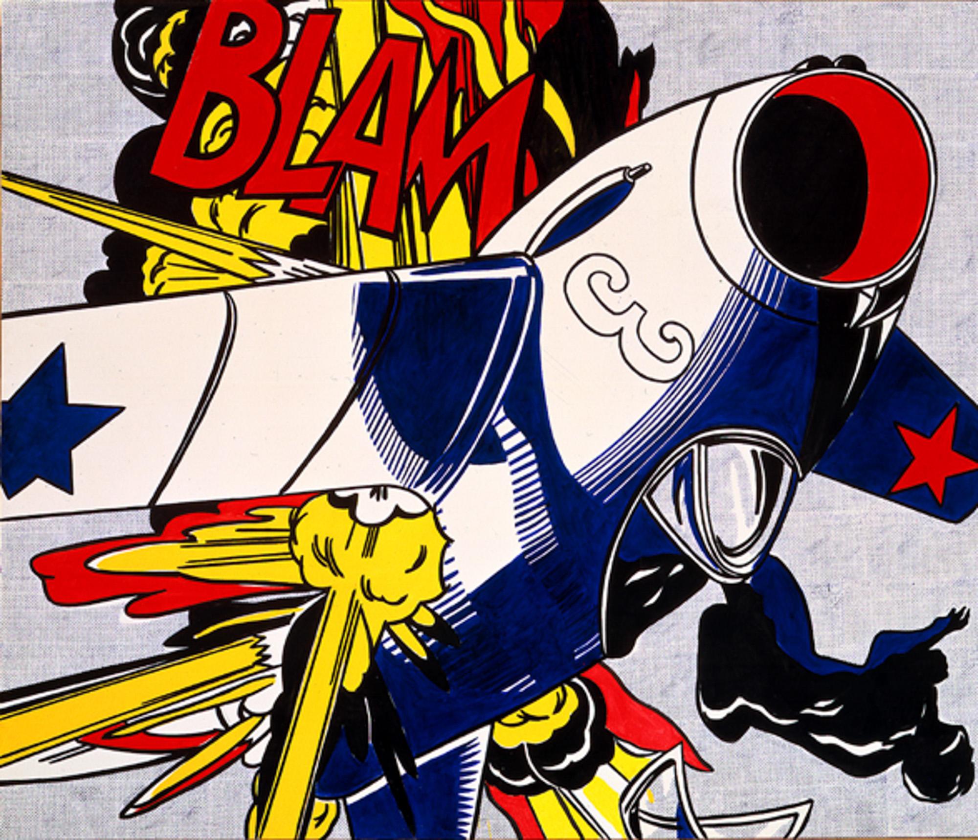 Roy Lichtenstein art 214