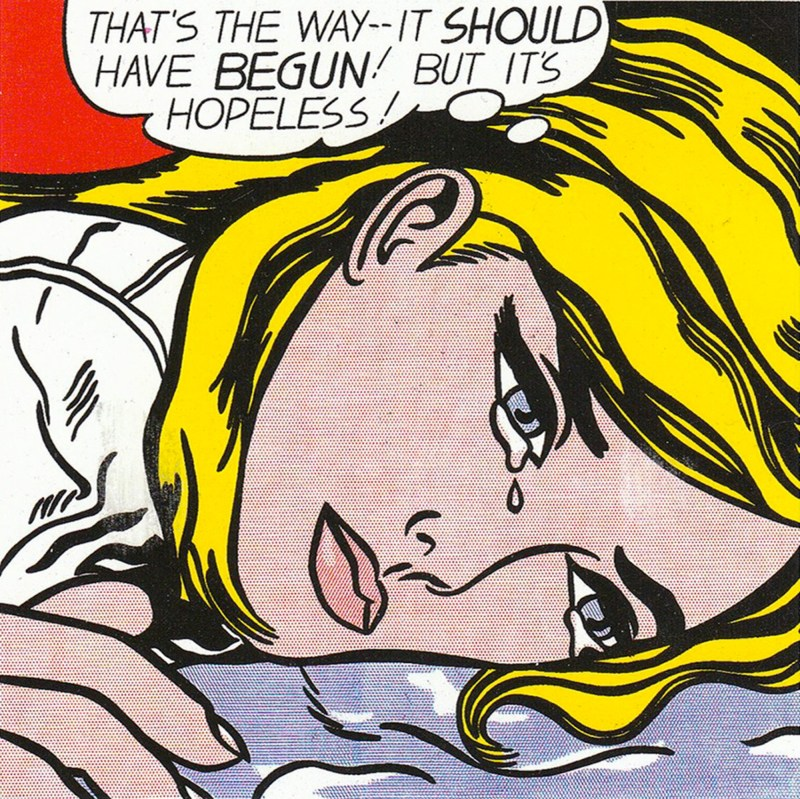 Roy Lichtenstein art 218