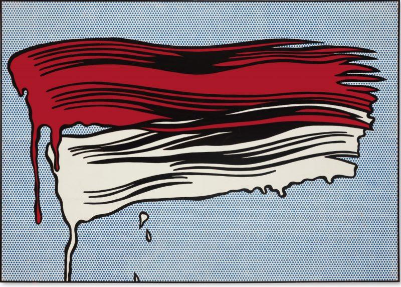 Roy Lichtenstein // Brush Strokes