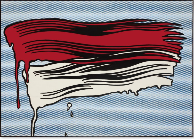Roy Lichtenstein // Brush Strokes
