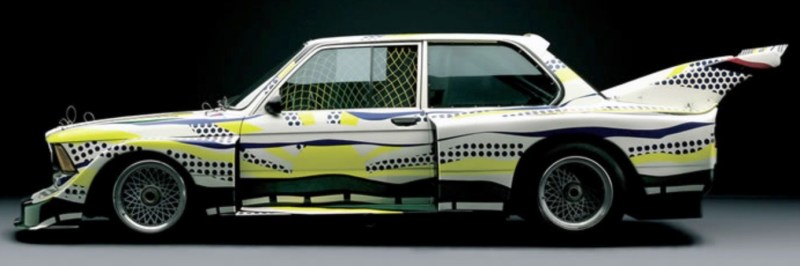 Roy Lichtenstein bmw art car10