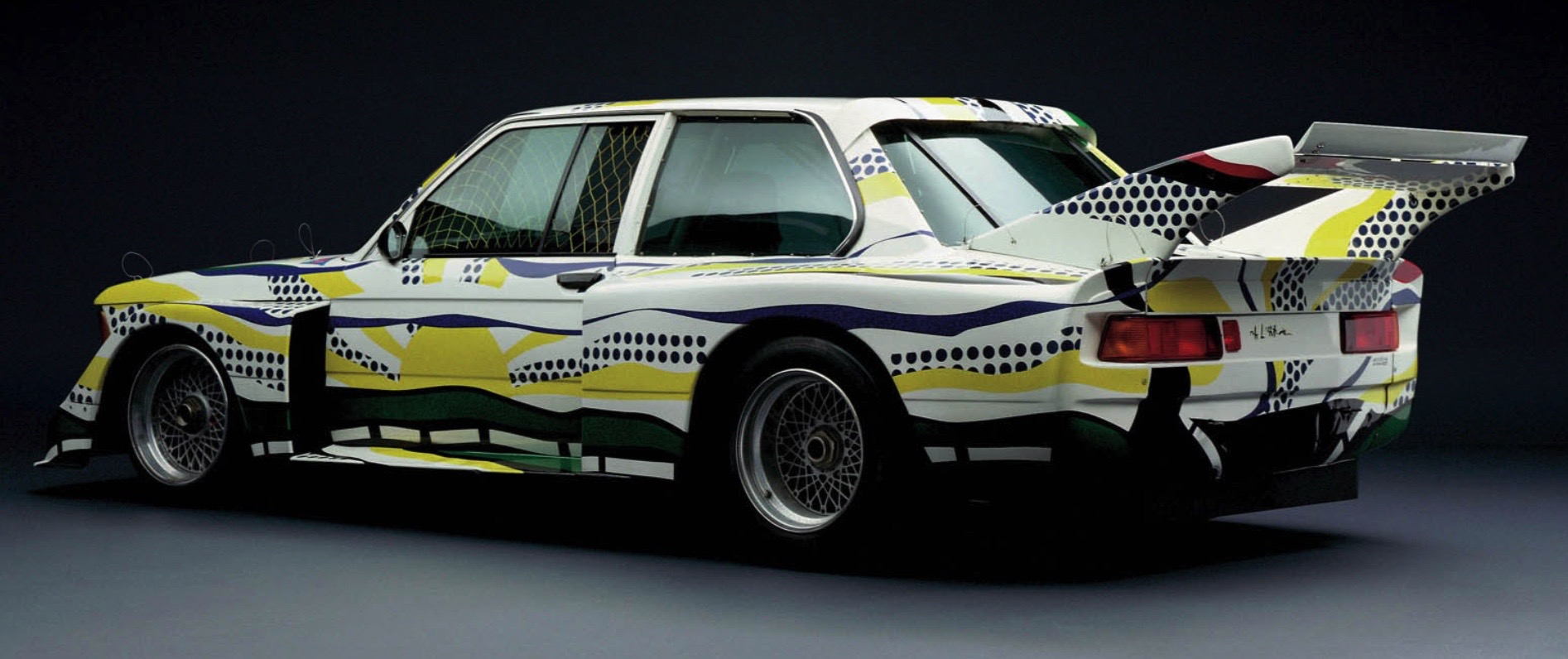 Roy Lichtenstein bmw art car16