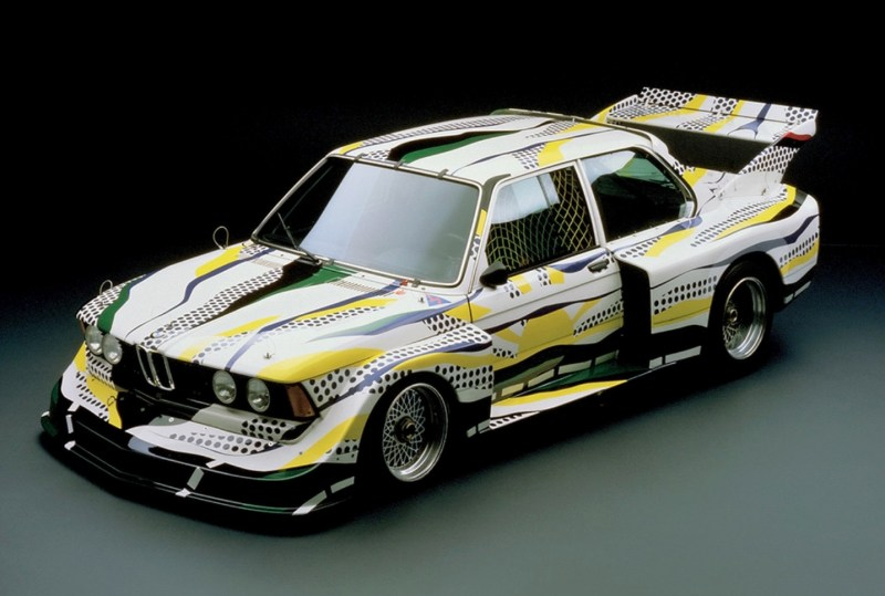 Roy Lichtenstein bmw art car4