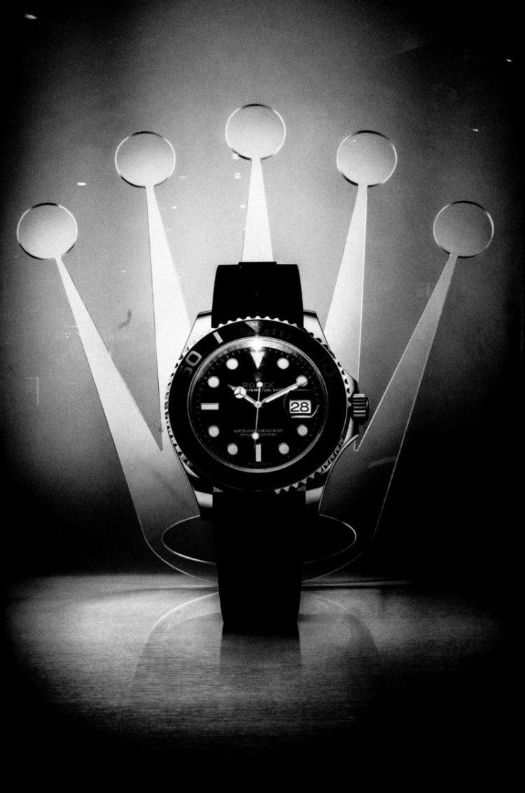 eric kim black and white street photography hanoi-0012281 black on black rolex