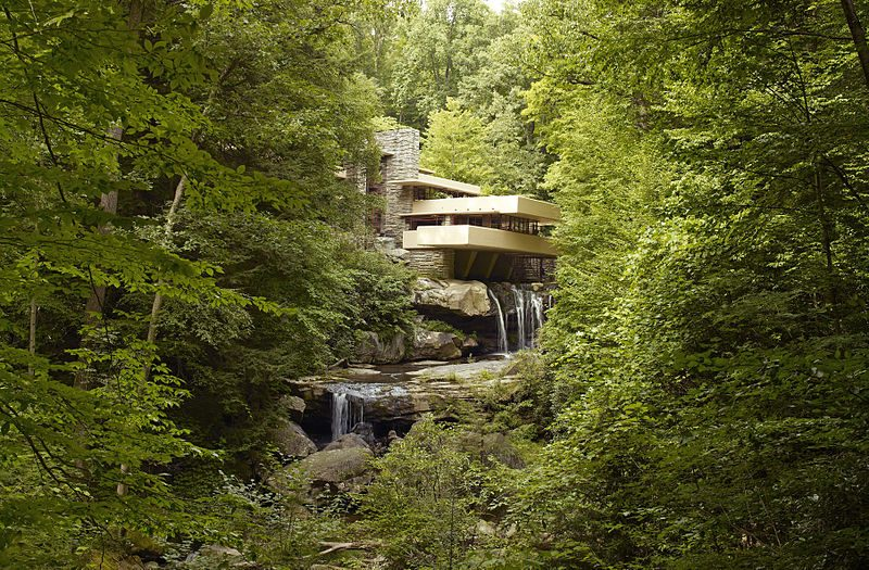 Falling water: His most famous work
