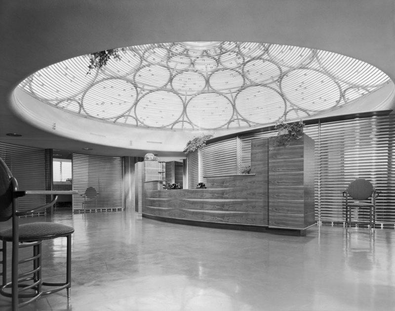 Johnson Wax Tower, Location: Racine WI, Architect: Frank Lloyd Wright