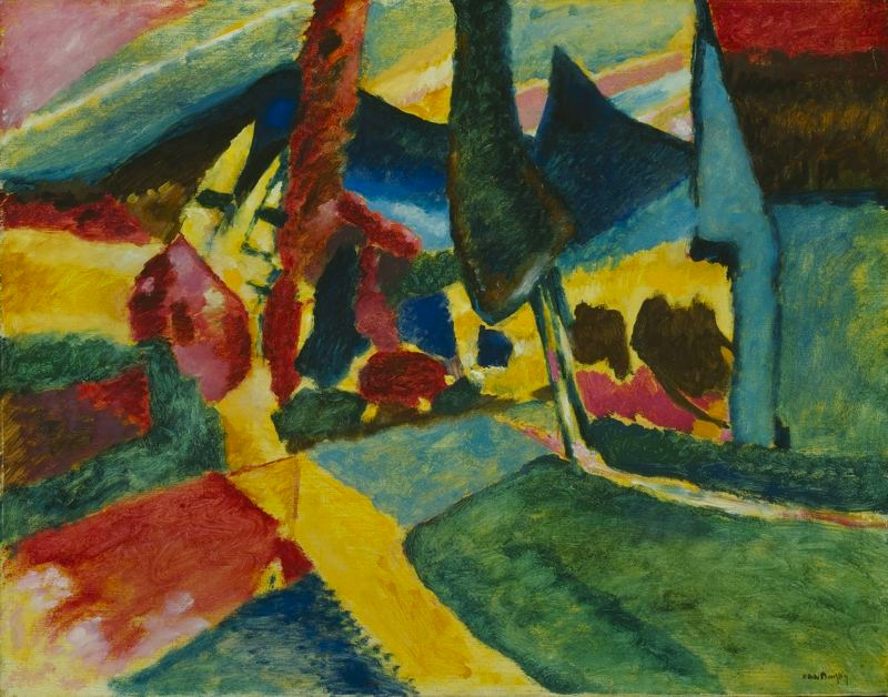 Vassilly_Kandinsky,_1912_-_Landscape_With_Two_Poplars