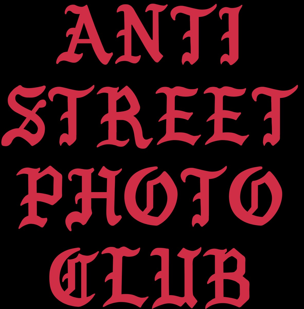 ANTI STREET PHOTOGRAPHY