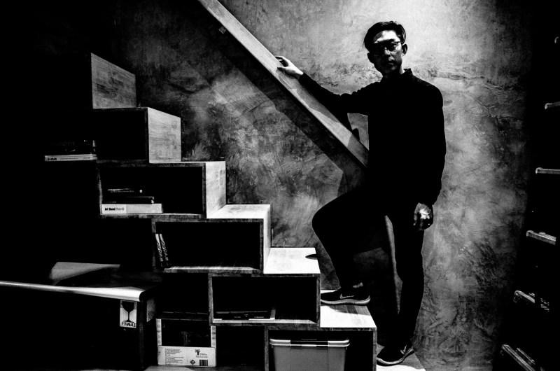 Eric Kim portrait by Cindy Hanoi