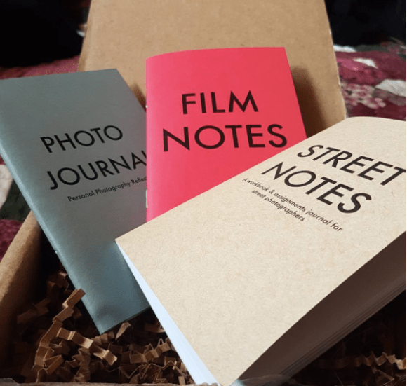HAPTIC PRESS BOX: Photo Journal, Film Notes, Street Notes - Photo by @captivatingtheunseen