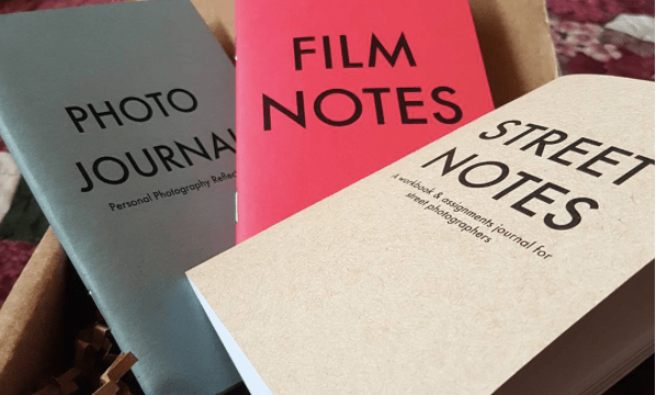 HAPTIC PRESS BOX: Street Notes, Photo Journal, Film Notes + Free Street Notes Mobile Edition