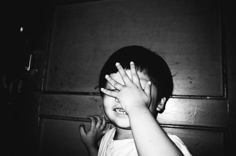 Saigon, 2017. The kid covering his face makes his expression more curious and interesting to look at. Danny