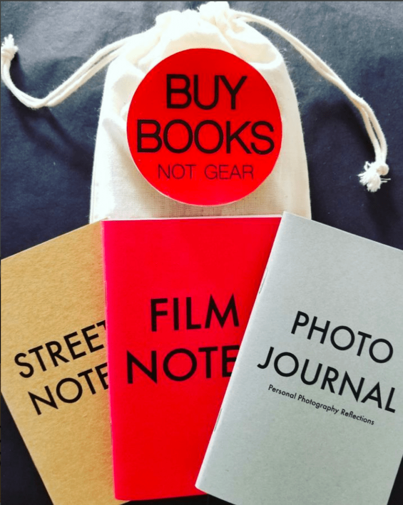 HAPTIC PRESS Box Bundle: Street Notes, Film Notes, Photo Journal