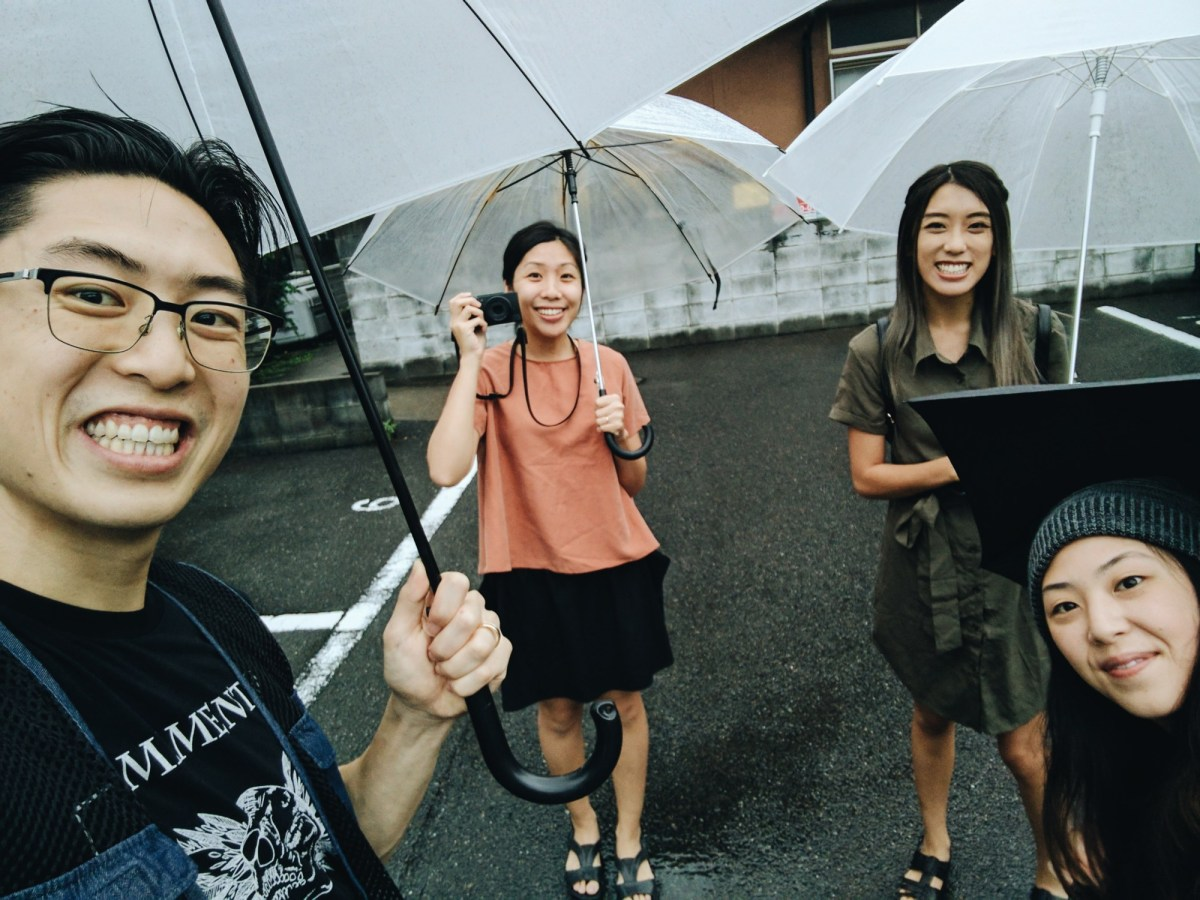 Family selfie in Kyoto. Processed with VSCO with a6 preset