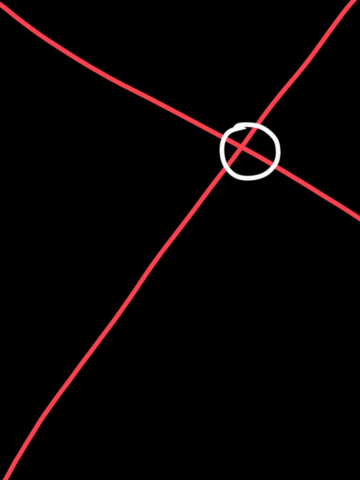 The golden rectangle (or triangle). Place your subject at the intersection of the red lines, with the white circle.