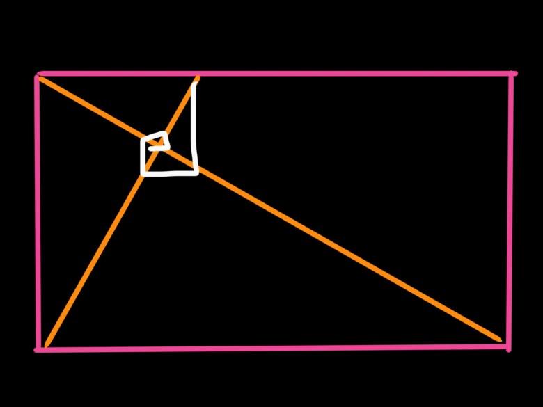 Golden triangle x Fibonacci spiral by ERIC KIM